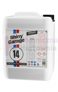 Koncentrat do czyszczenia opon SHINY GARAGE Pure Black Tire Cleaner - 5L