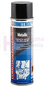 Wosk do ochrony podwozia DINITROL METALLIC - spray 500 ml
