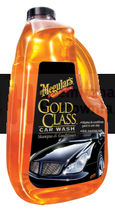 Szampon do mycia pojazdów MEGUIAR'S Gold Class Car Wash Shampoo & Conditioner 64oz - 1893 ml
