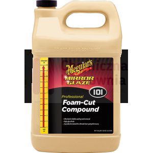 Mocno-ścierna pasta polerska MEGUIAR'S Foam Cut Compound - 3,78 L