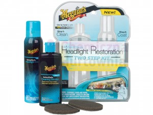Zestaw do renowacji reflektorów MEGUIAR'S Perfect Clarity 2-step Headlight Kit